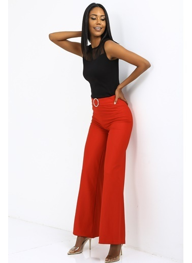 Emjey Pantolon Kırmızı